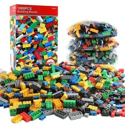 Pcs Building Blocks City DIY Creative Bricks Educational