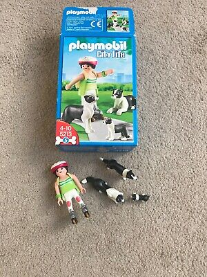 Playmobil  Figure Set - Border Collie Family