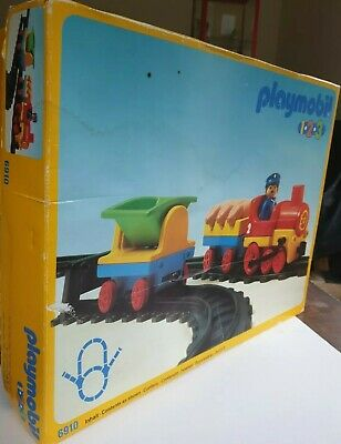 Playmobil #  Freight Train Set 1.2.3 Made in Germany