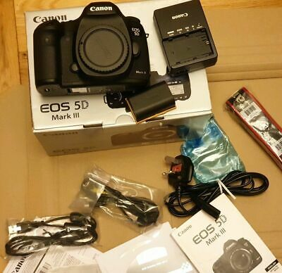 Canon EOS 5D Mark III Digital SLR Camera- Low Shutter Count