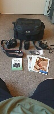 Canon EOS Rebel T4i 18.0 MP Digital SLR Camera - with extras