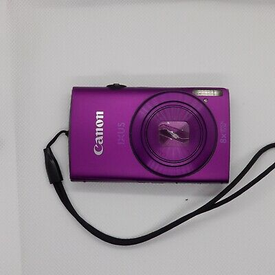 Canon IXUS 265 HS 16.0MP Digital Camera - Purple