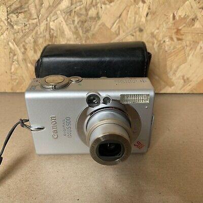 Canon IXUS MP Digital Camera - Silver - Case, Manual,