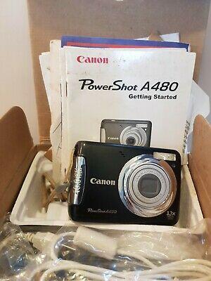 Canon PowerShot AMP Digital Camera - Black with SD ~