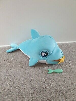 Club Petz Blu Blu The Baby Dolphin  H28, W30, D49cm By