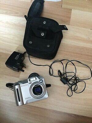 Fujifilm MX 600 Zoom Digital Camera Silver with original