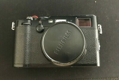 Fujifilm X100f Professional Digital Compact Camera - Black