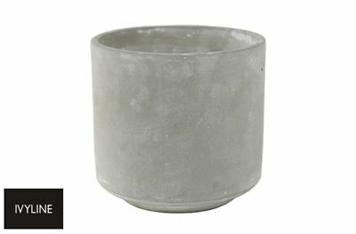 Indoor Cement Flower Plant Pot Planter 16cm