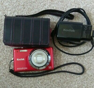 Kodak EASYSHARE MMP Digital Camera - Red