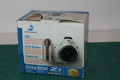 Konica Minolta DiMAGE Z3 4.0MP Digital Camera - Silver #19