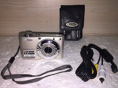 Nikon COOLPIX LMP Digital Camera - Champagne silver