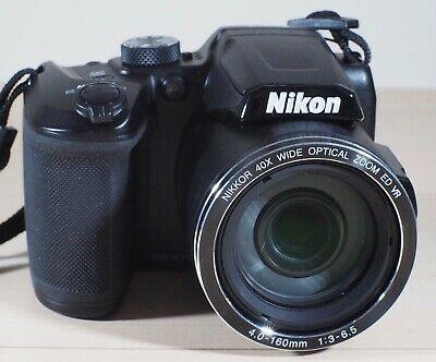 Nikon Coolpix B500 Compact Digital Camera - Black with Nikon
