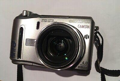Olympus CAMEDIA 750 Ultra Zoom 4.0MP Digital Camera - Silver