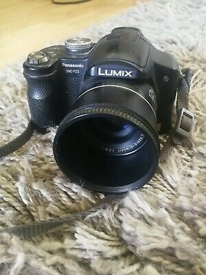 Panasonic LUMIX DMC-FZ8 7.2MP Digital Camera - Black