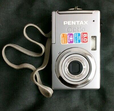 Pentax Optio V MP Digital Camera - Black