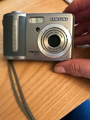 Samsung Digimax D MP Digital Camera - Silver With