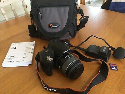 Sony Alpha A290L 14.2MP Digital SLR Camera-Black(w /mm
