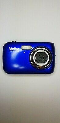Vivitar ViviCam FMP Digital Camera - Blue