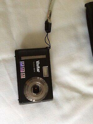 Vivitar ViviCam MP Digital Camera - Black + Case