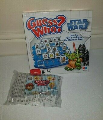 Guess Who? Star Wars Edition Kids MB Games Incomplete &