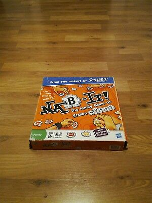 NAB - IT! The Family Game of Stolen Words Boardgame by