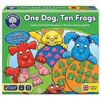 Orchard Toys One Dog, Ten Frogs