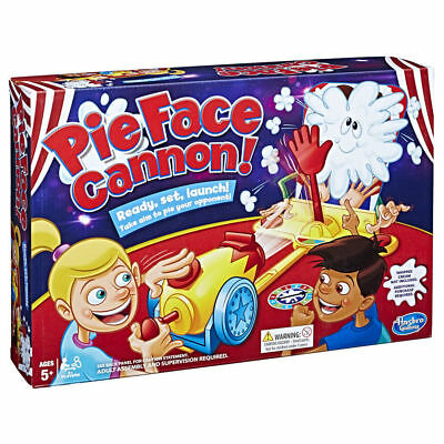 Pie Face Cannon Game Whipped Cream Family Board Game,