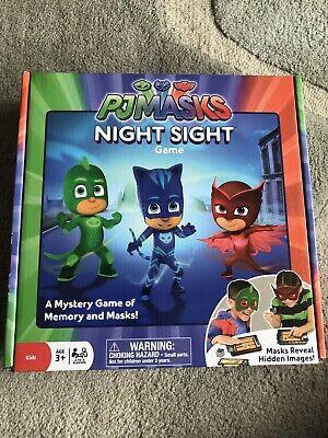 Ravensburger PJ Masks Night Sight Game (Used Once)