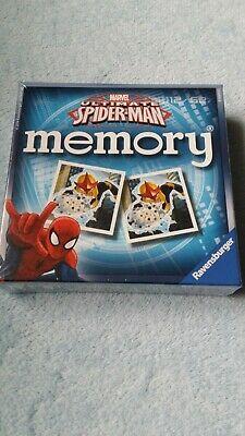 Spider-Man Mini Memory Game Kids Fun Card Image Matching