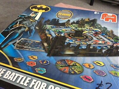 The Battle for GOTHAM CITY D board game by JUMBO