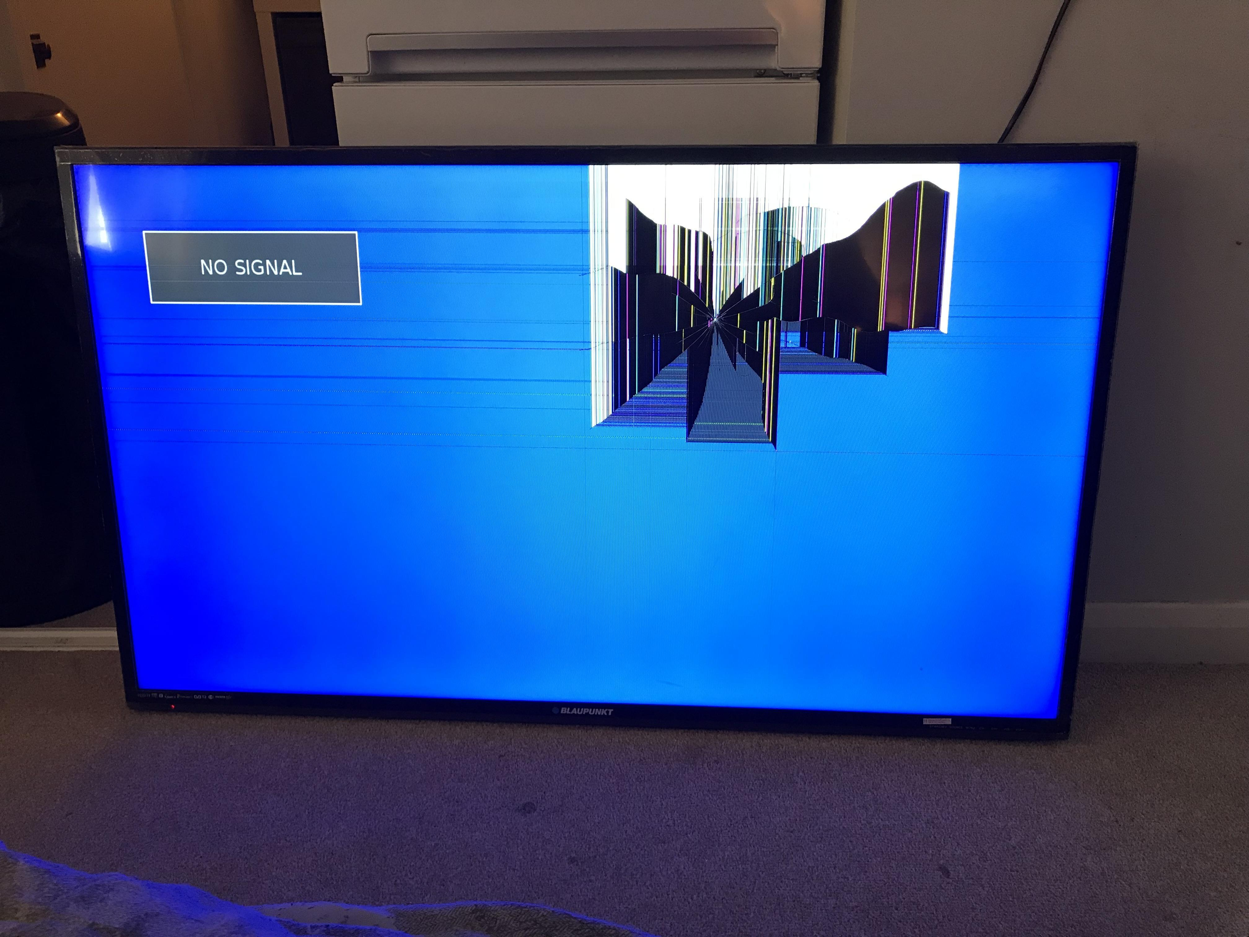 "Blaupunkt 49"" Full HD p LED SMART TV **SPARES OR"