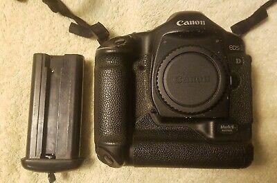Canon EOS 1D Mark II 8.2MP Digital SLR Camera complete chg &