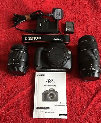 Canon EOS D DSLR Camera with  mm f/