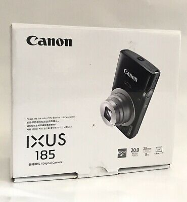 Canon IXUS 185 Digital Camera - Silver. Brand New, Opened