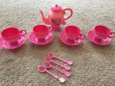 Disney Princess Bubble Tea Set Toy - 14 Piece Set -