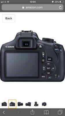 EOS Rebel T6 EF-S mm IS II Digital DSLR Camera, Body