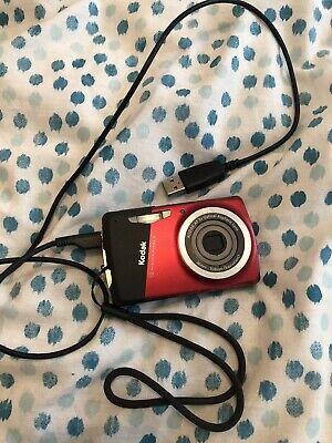 Kodak Easyshare MDmp Digital Camera - Red. With