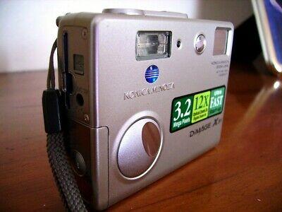 Konica Minolta DiMAGE XMP Digital Camera - Silver