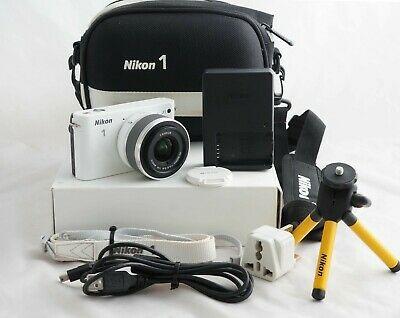 Nikon 1 JMP Digital Camera WHITE (Kit w/ VR mm