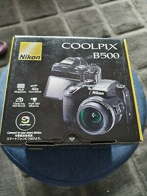 Nikon COOLPIX BMP x 40 zoom Digital Camera - Black