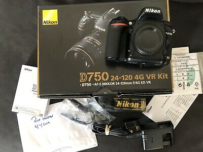 Nikon D750 Body Only (NEW SHUTTER & Nikon Serviced with
