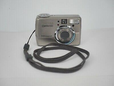 Pentax Optio  MP Compact Digital Camera - Silver