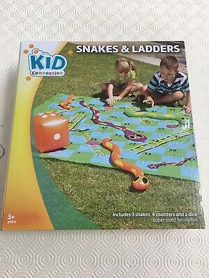 Snakes and Ladders Game For Outdoor (And Indoor!) Use.