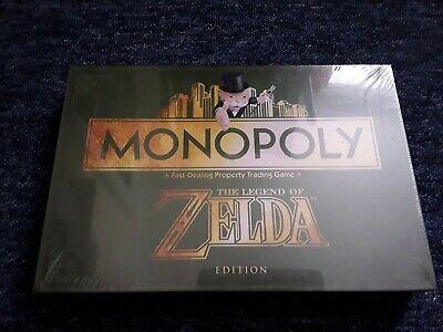 The Legend of Zelda Board Game Monopoly sealed