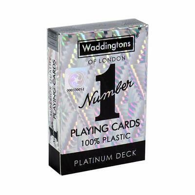 Waddingtons Number 1 Playing Cards - Platinum Deck