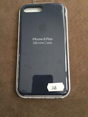 100% Genuine Original Apple iPhone 7/8 Plus Silicone Case