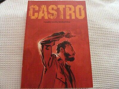 Castro: [A Graphic Novel] Paperback Book Reinhard Kleist
