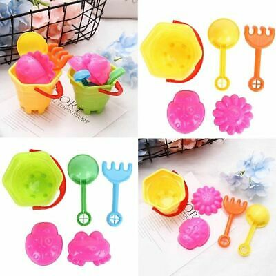 Tiny Beach Sand Toys Tools Bucket Set For Toddler Kids