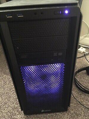 CORSAIR Compact Gaming PC -NVIDIA GeForce TI, mid