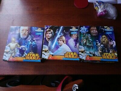 Disney Star Wars Panorama Puzzle 3 In 1 Puzzle